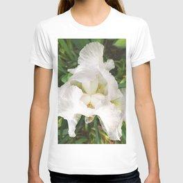 493 - White Iris T-shirt