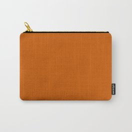 Tenné (tawny) - solid color Carry-All Pouch