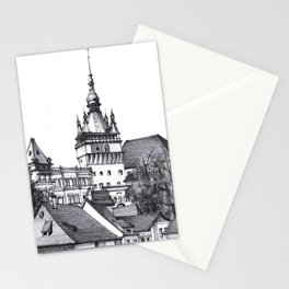 Old Town Castle Stationery Cards