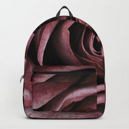 Decorative Red Rose Floral Backpack