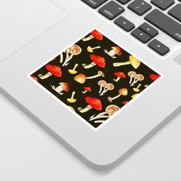 Brigt Mushrooms Sticker