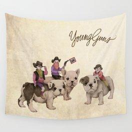 Young Guns Wall Tapestry