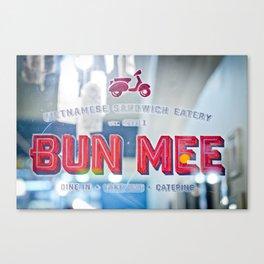 Bun Mee Canvas Print