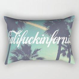 CaliFUCKINfornia Rectangular Pillow