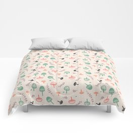 Forest love Comforters