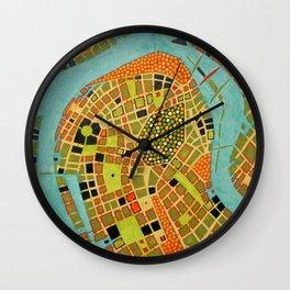 cypher number 19 - koblenz (ORIGINAL SOLD). Wall Clock