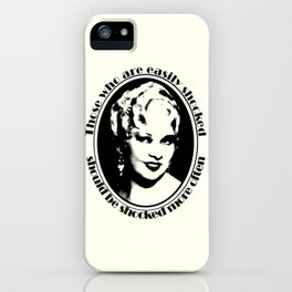 Mae West iPhone Case