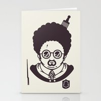 potter Stationery Cards featuring Barry Potter by Ryder Doty