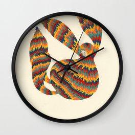 A Trifle High Wall Clock
