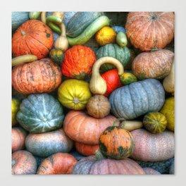 Fall crop Canvas Print