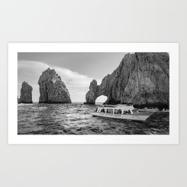 The arch of Cabo San Lucas Art Print