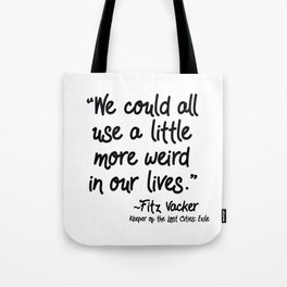 Fan-favorite Fitz Quote Tote Bag