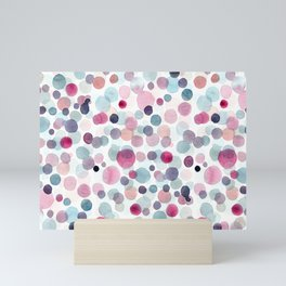 Pink Bubbles Mini Art Print
