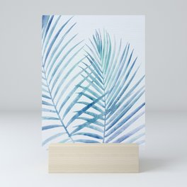 Coastal Palms Watercolor Mini Art Print