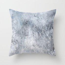 Gray Angst 2 Throw Pillow