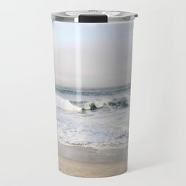 Crashing waves & hazy skies Travel Mug