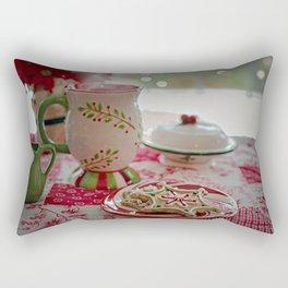 Christmas Table Rectangular Pillow