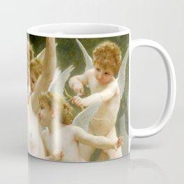 "William-Adolphe Bouguereau ""The Invasion (The Wasp's Nest)"" Coffee Mug"