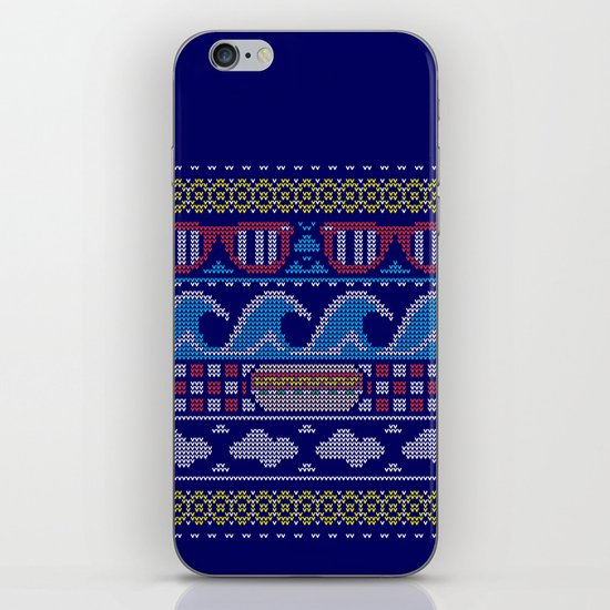 Ugly Summer Sweater iPhone & iPod Skin