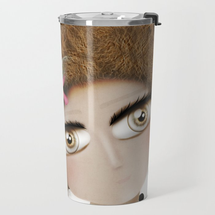 I can not take my eyes out of you Travel Mug