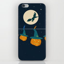 halloween pumpkins iPhone Skin