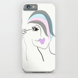 I Would Cry But My Mascara Is Designer iPhone Case