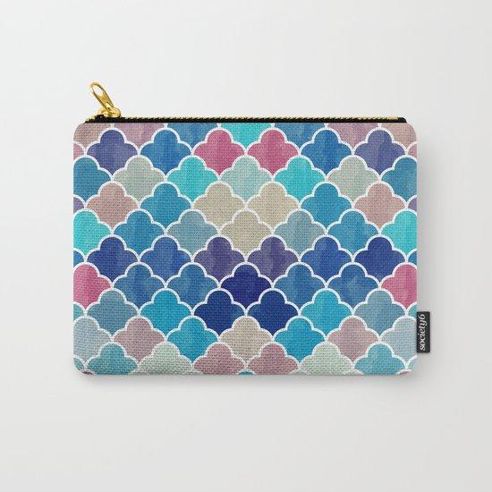 Watercolor Lovely Pattern VVXV Carry-All Pouch