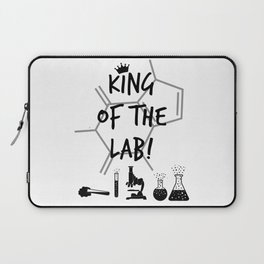 King of The Lab Laptop Sleeve