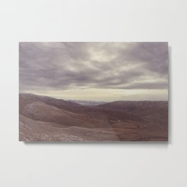 Cardrona Valley Metal Print