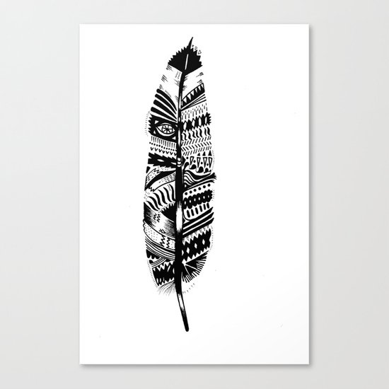 A long time ago I used to be an Indian (2) Canvas Print