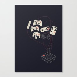 Videogame Canvas Print