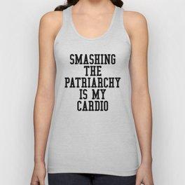Smashing The Patriarchy is My Cardio Unisex Tank Top
