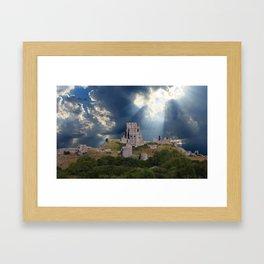 Castle in Sunlight Framed Art Print