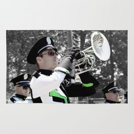 Band photography art Rug