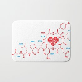 The chemistry of love Bath Mat