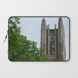 Trees and Tower Laptop Sleeve