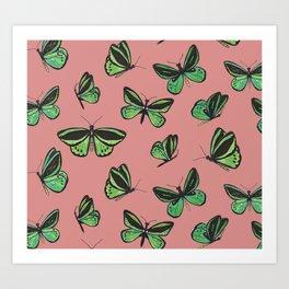 Common Birdwing Art Print