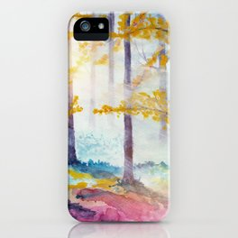 Into The Forest VI iPhone Case