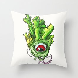 Heart of the Bog Witch Throw Pillow