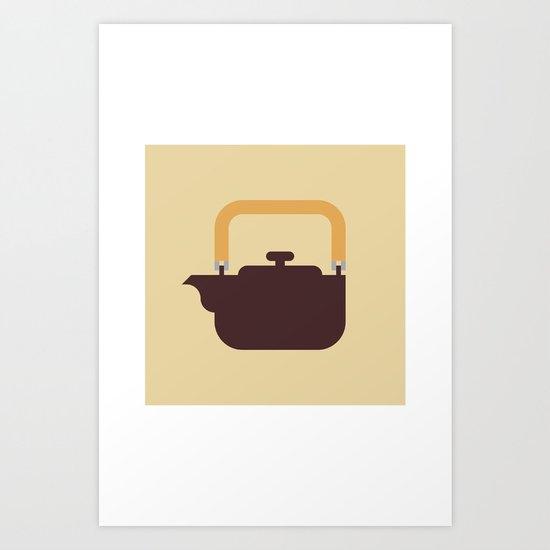 Japan Teapot Art Print