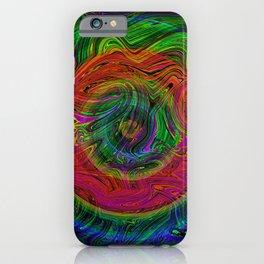Trippy Glow iPhone Case