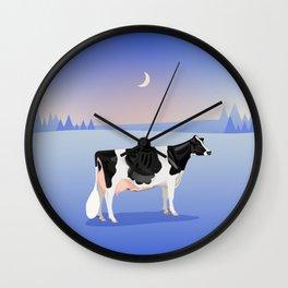 Holstein // Winter Wall Clock