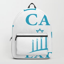 Keep Calm And Eat Latkes Pancake Lover And Jew Gift Backpack