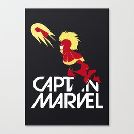 Captain Carol Danvers Canvas Print