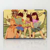 fairy tale iPad Cases featuring Fairy Tale by Radical Ink by JP Valderrama