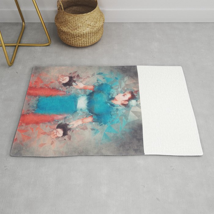 Street Fighter 2 Chung Le Rug By