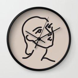 Janey - Henri Matisse - Lithograph - Vintage Art Print - Digital Download - Printable Matisse Print Wall Clock