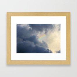 Silver Lining Framed Art Print