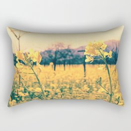 Bye-bye Winter, Hello Spring! Rectangular Pillow