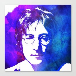 Watercolor Portrait Canvas Print